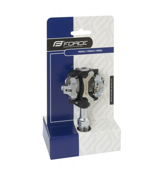 Pedales automaticos Force Click MTB