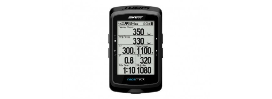Cuentakilómetros y GPS